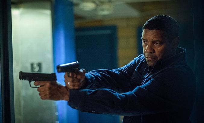Denzel Washington in THE EQUALIZER 2 (2018).