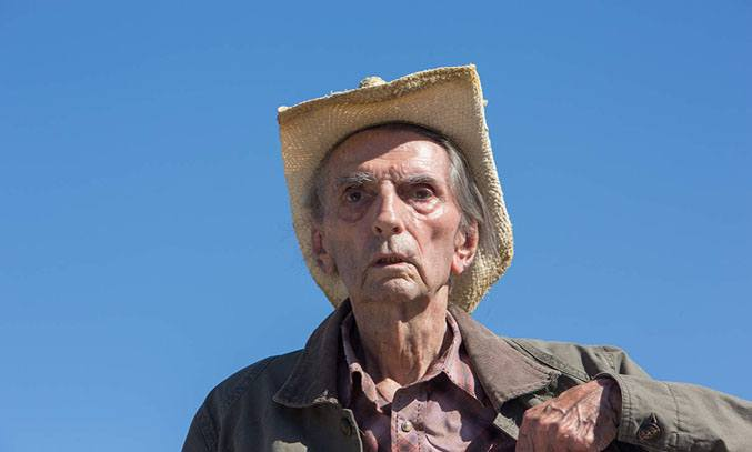 Harry Dean Stanton in Lucky (2017) © Film Troope LLC