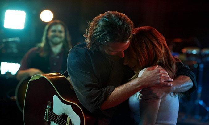 Bradley Cooper and Lady Gaga in A STAR IS BORN (2018) © Warner Bros.