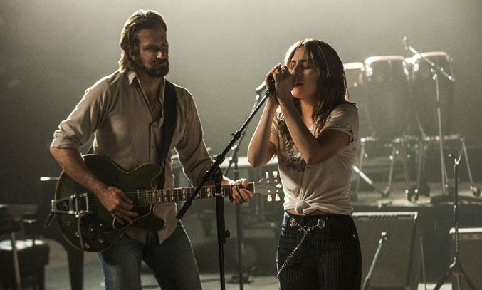 Bradley Cooper and Lady Gaga in A Star Is Born Film (2018)