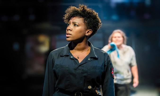 Jade Anouka as Margaret of Anjou in QUEEN MARGARET. Photo Credit: Johan Persson