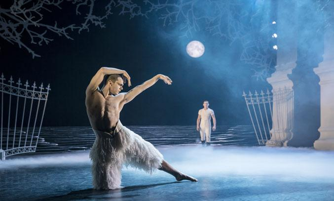 Matthew Bourne's SWAN LAKE UK Tour 2018.