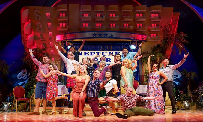 Sherrie Hewson as Joyce Temple-Savage and Company in BENIDORM LIVE