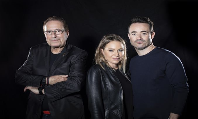 Peter James, Rita Simons and Joe McFadden for THE HOUSE ON COLD HILL
