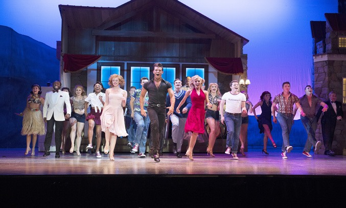 The company of DIRTY DANCING: THE CLASSIC STORY ON STAGE