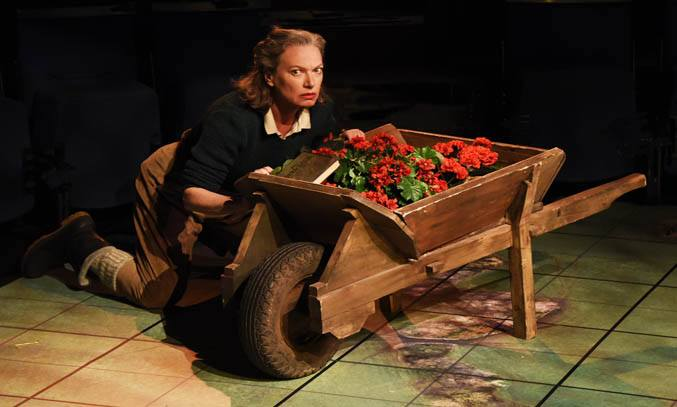 Isobel Middleton as Beatrice in MUCH ADO ABOUT NOTHING.