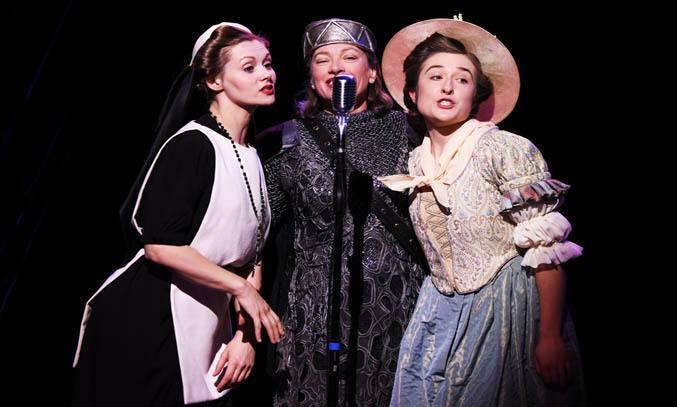 Sophia Hatfield, Isobel Middleton & Rachel Hammond in MUCH ADO ABOUT NOTHING