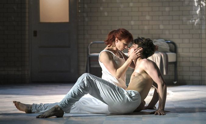 Matthew Bourne's ROMEO AND JULIET. Photo Credit: Johan Persson