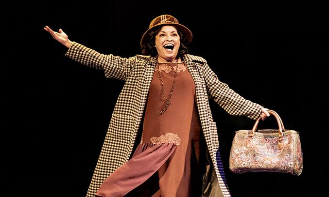 Ria Jones as Rose in GYPSY.