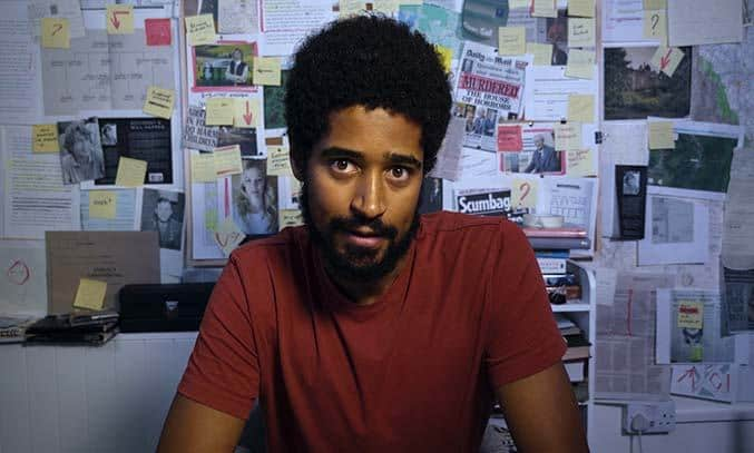 Alfred Enoch in WHAT A CARVE UP!