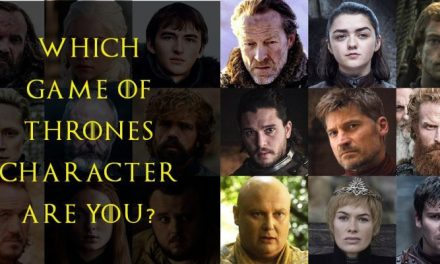 Which Game of Thrones Characters are YOU?