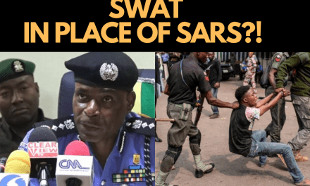 END SARS NOW – THE IG OF THE NIGERIAN POLICE IS WRONG!