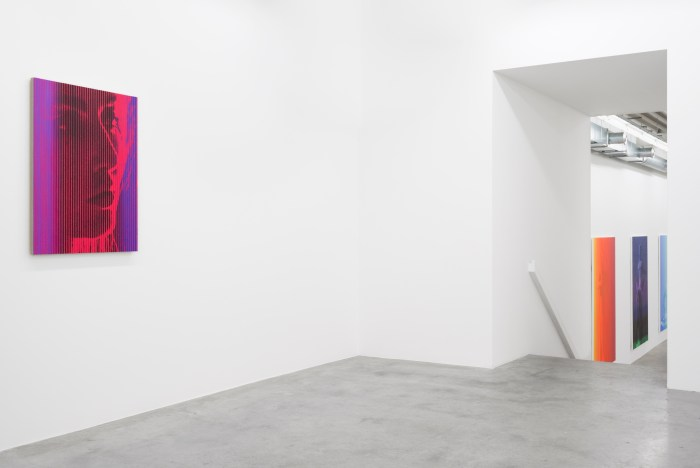 Richard Phillips at Almine Rech Gallery Brussels November 17, 2016 - February 25, 2017, Courtesy of the Artist and Almine Rech Gallery, Photo: Sven Laurent: Let me shoot for you