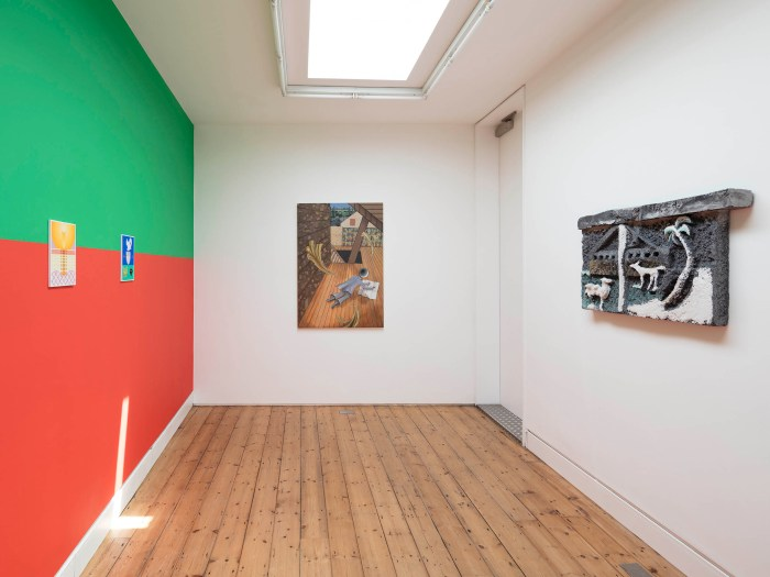 Splendor Solis, Installation view at The Approach, 2018. Photo: Lewis Ronald.