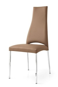Calligaris Juliet Leather Dining Chair  Frank Mc Gowan