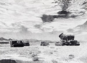 Nina Elder, Jumbo (Trinity Test Site, April 7, 1945), 2012