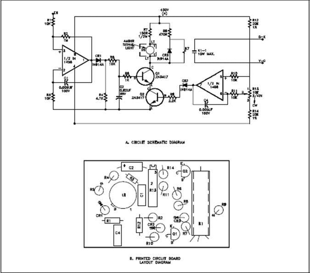 a second type of electronic schematic diagram the pictorial layout diagram is actually not so much an electronic schematic as a pictorial of how the  [ 998 x 878 Pixel ]