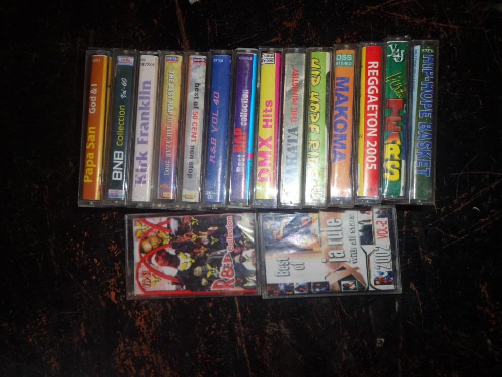 Hip hop cassettes Frankmwenda rapper