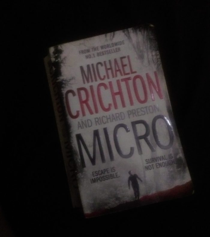 Micro Michael Crichton Book