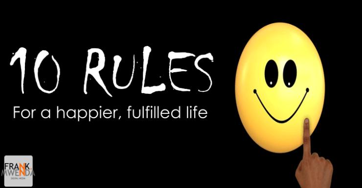 Life Rules frankmwenda