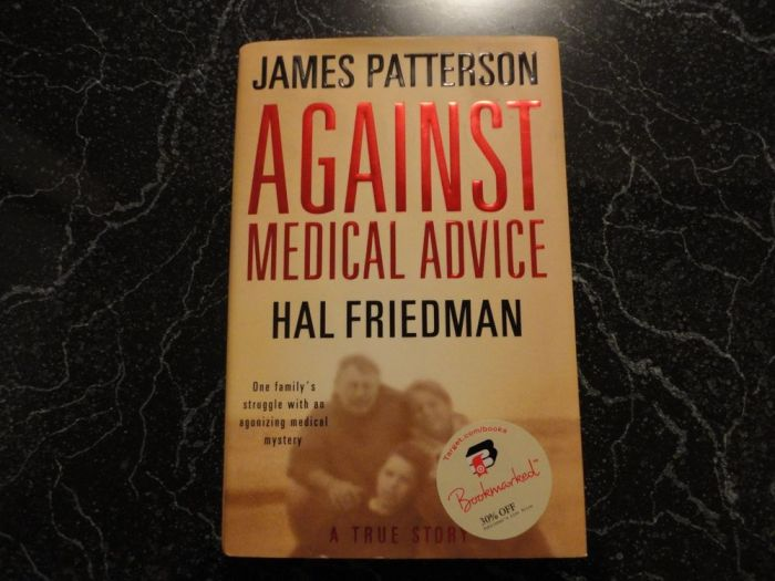 Against Medical Advice - James Patterson _ a Medical Book