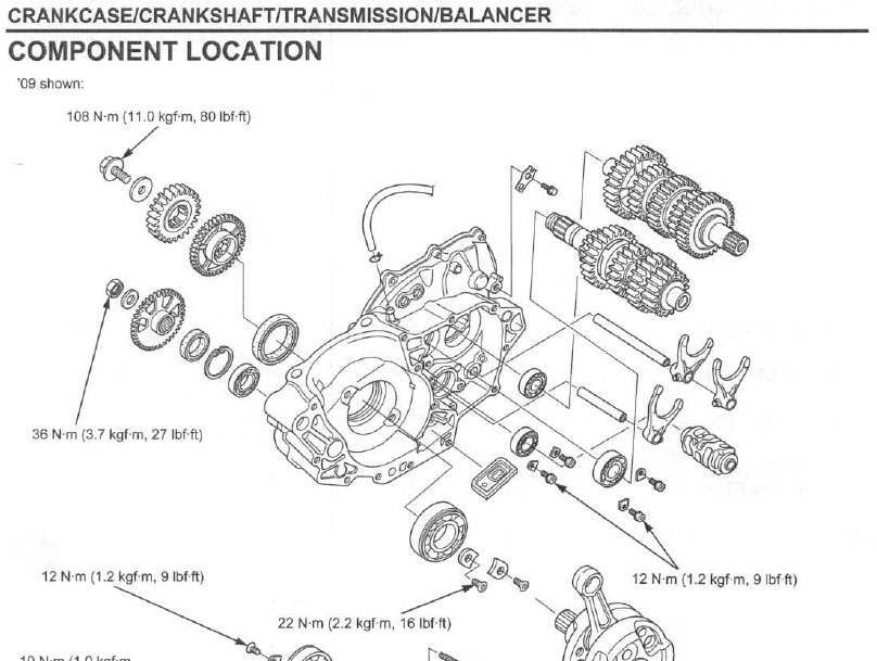 CRF 450 REPAIR MANUAL PDF