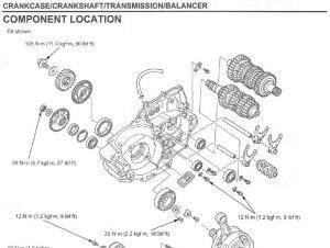 Werkplaatshandboek  2009  2012 Honda CRF450R  Frank