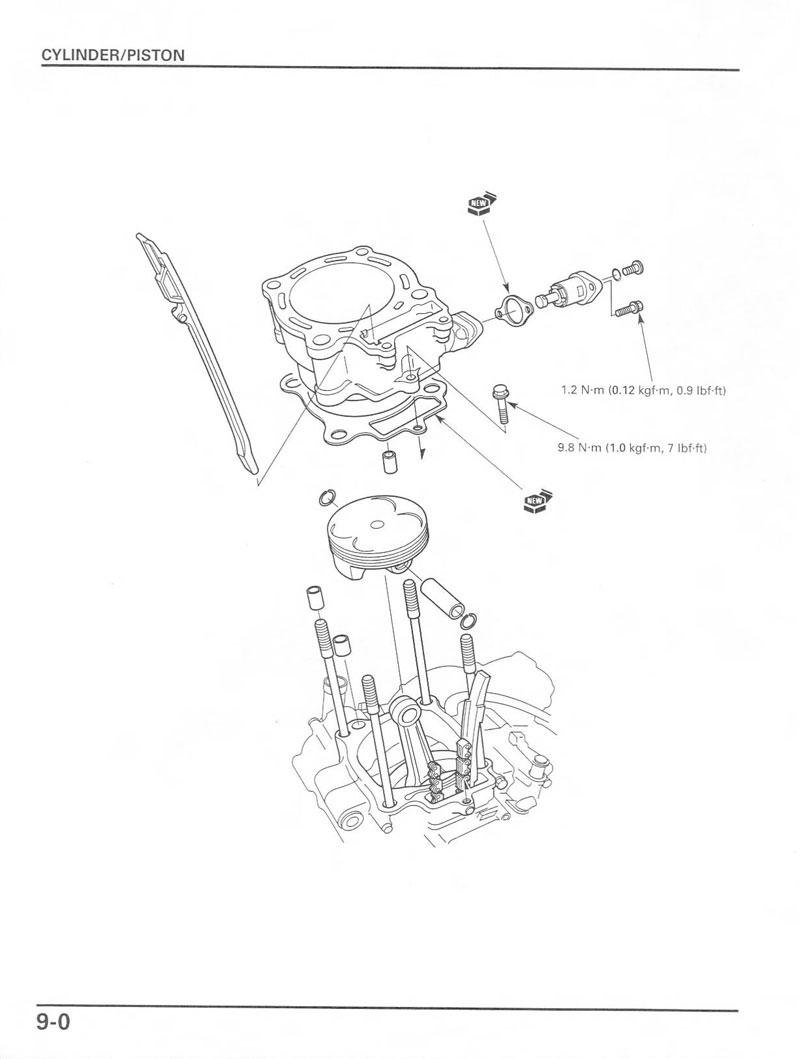 2005 Crf450r Schematic Of Honda Motorcycle Parts ~ Elsavadorla