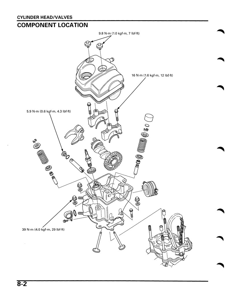 Honda Crf 70 Engine Diagram, Honda, Free Engine Image For