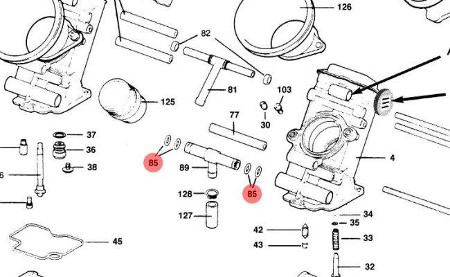 O Ring Fuel Line T Joint Keihin Fcr Carburetor Frank