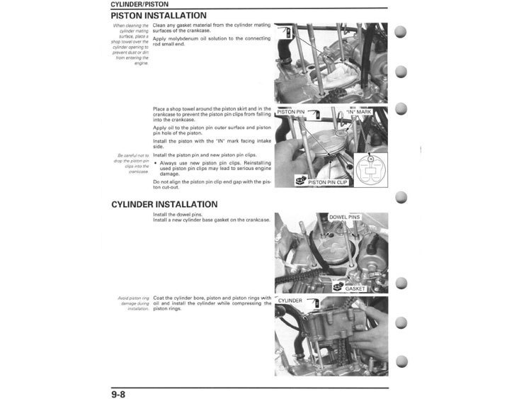2008 HONDA CRF250R MANUAL PDF