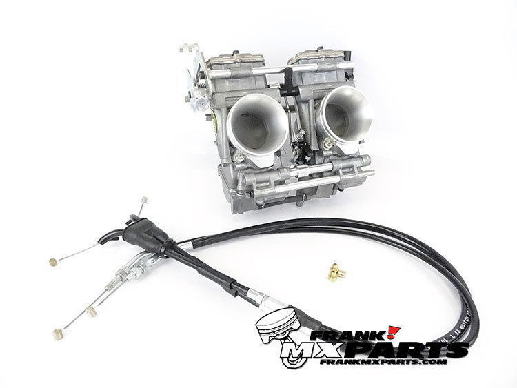 Mikuni TDMR 40 flatslide racing carburetors / Yamaha TRX