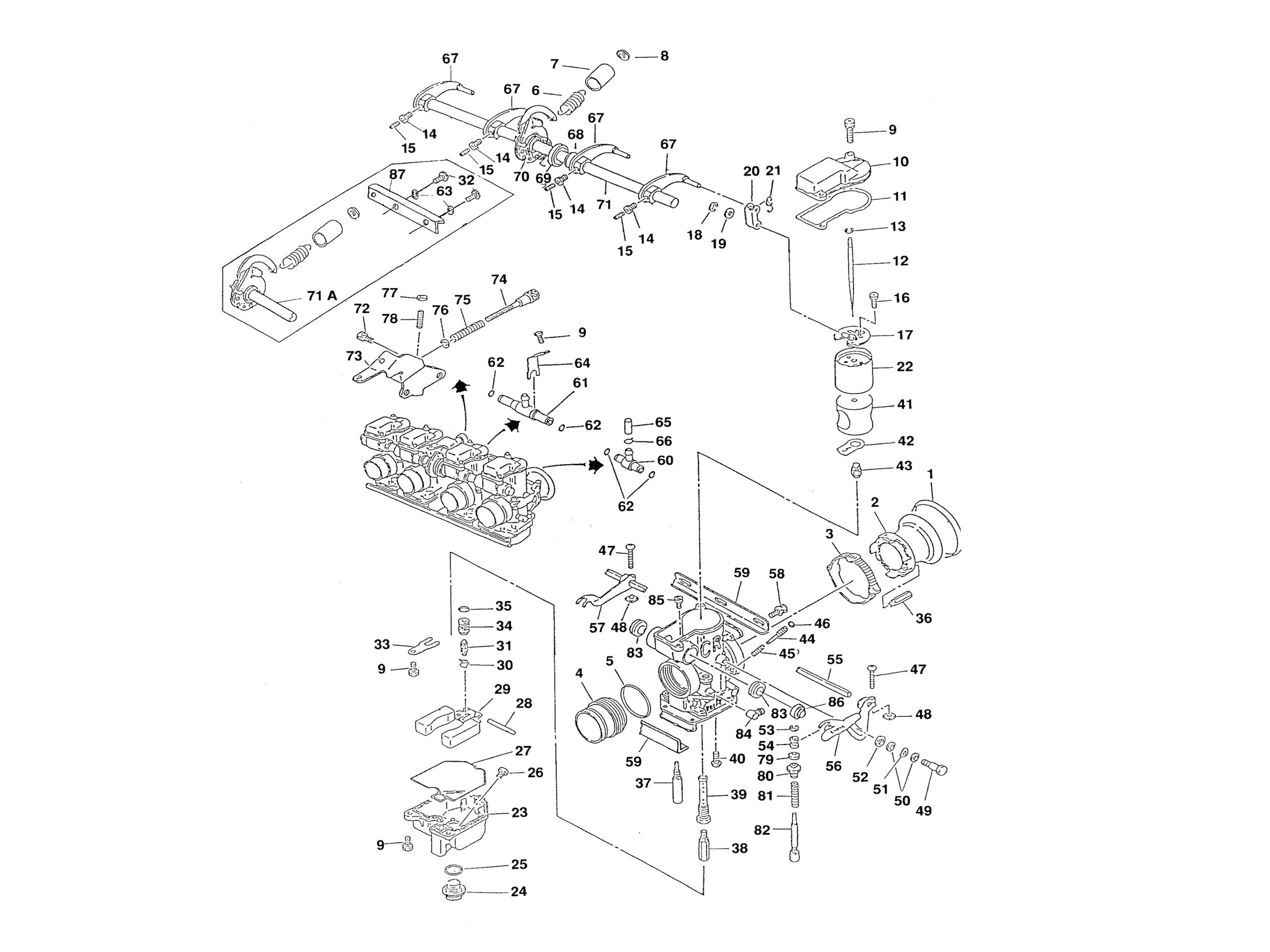 Keihin Cr Special Carburetor Parts Diagram