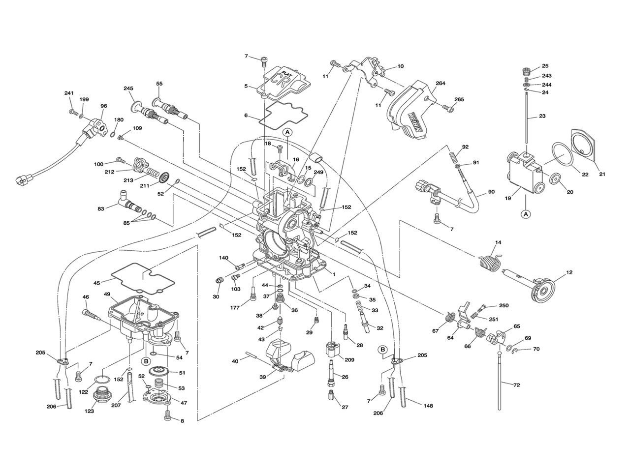 Keihin Carburetor Parts Diagrams Images