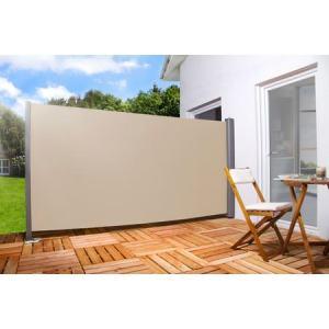 Sichtschutz/Seitenmarkise, cremefarben (BxH: 300 x 180 cm)