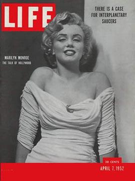 Marilyn Monroe Life Magazine COver