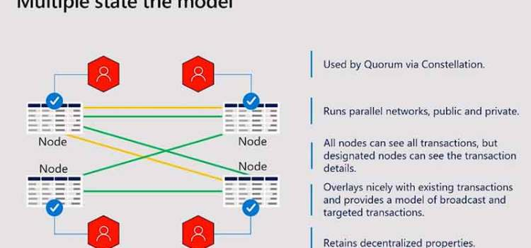 Privacy Models for Private Blockchains