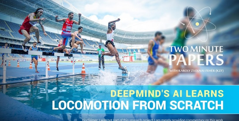 DeepMind's AI Learns Locomotion From Scratch