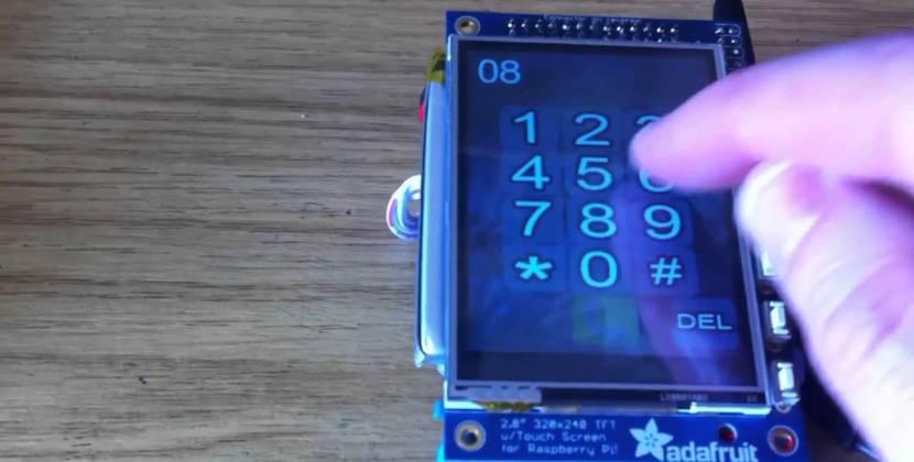 A Raspberry Pi Based Smart Phone!