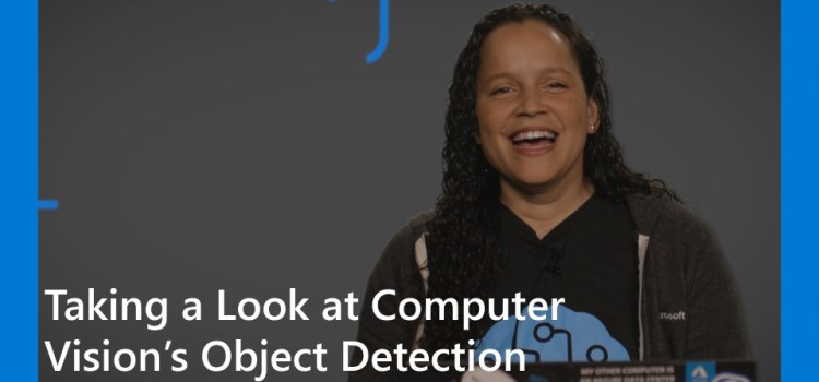 Computer Vision Object Detection with Cognitive Services
