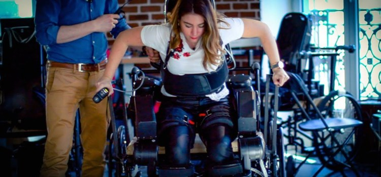 An Exoskeleton that Helps With Physical Rehabilitation