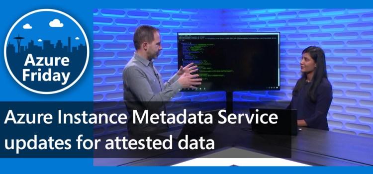 Azure Instance Metadata Service