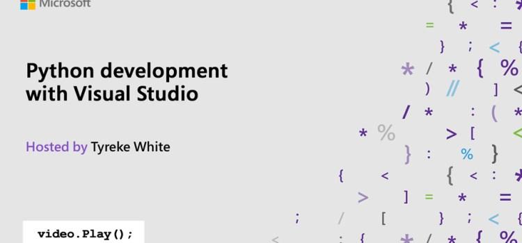 Python development with Visual Studio