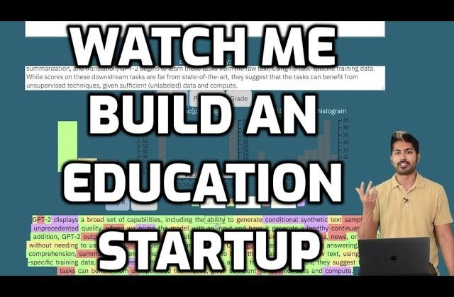 Building an Education Startup with AI