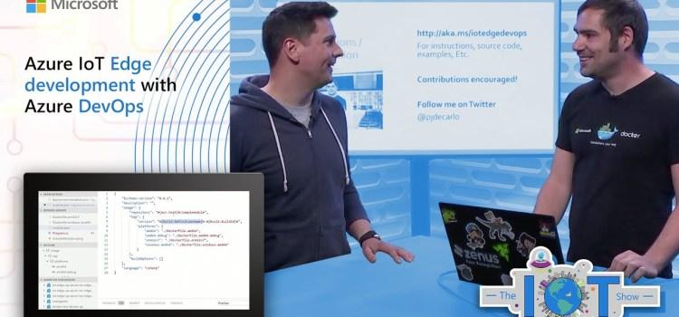 Azure IoT Edge development with Azure DevOps