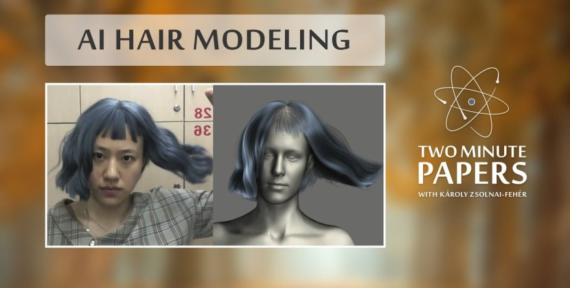 An AI that Captures Your Hair Geometry from Just One Photo