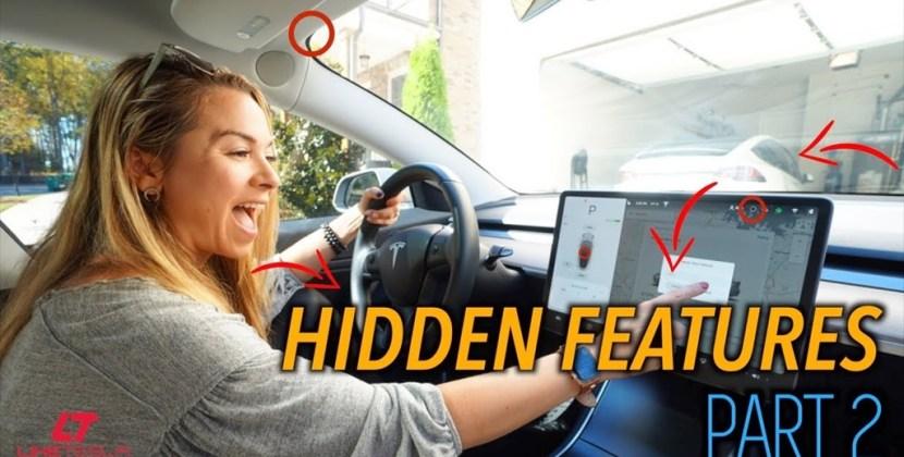 Tesla Easter Eggs and Hidden Features