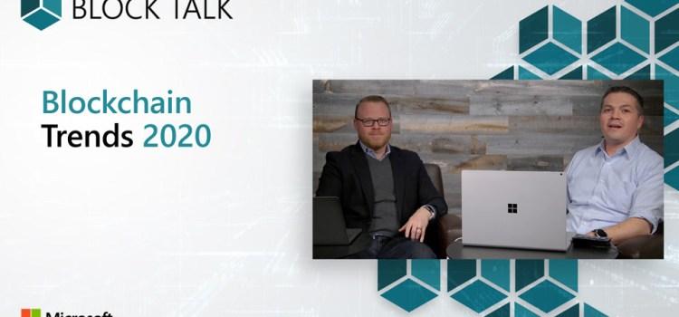 Blockchain Trends 2020