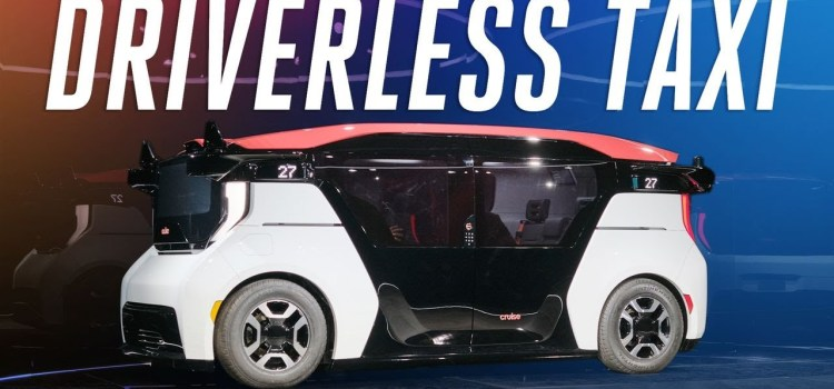 A First Look at Cruise's First Fully Driverless Car