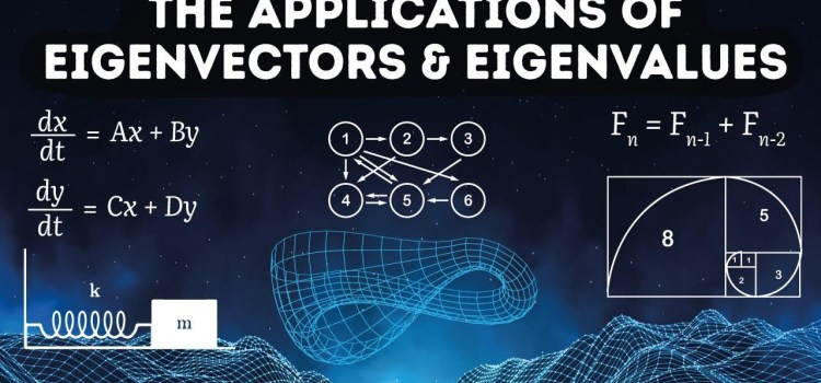 Applications of Eigenvectors and Eigenvalues